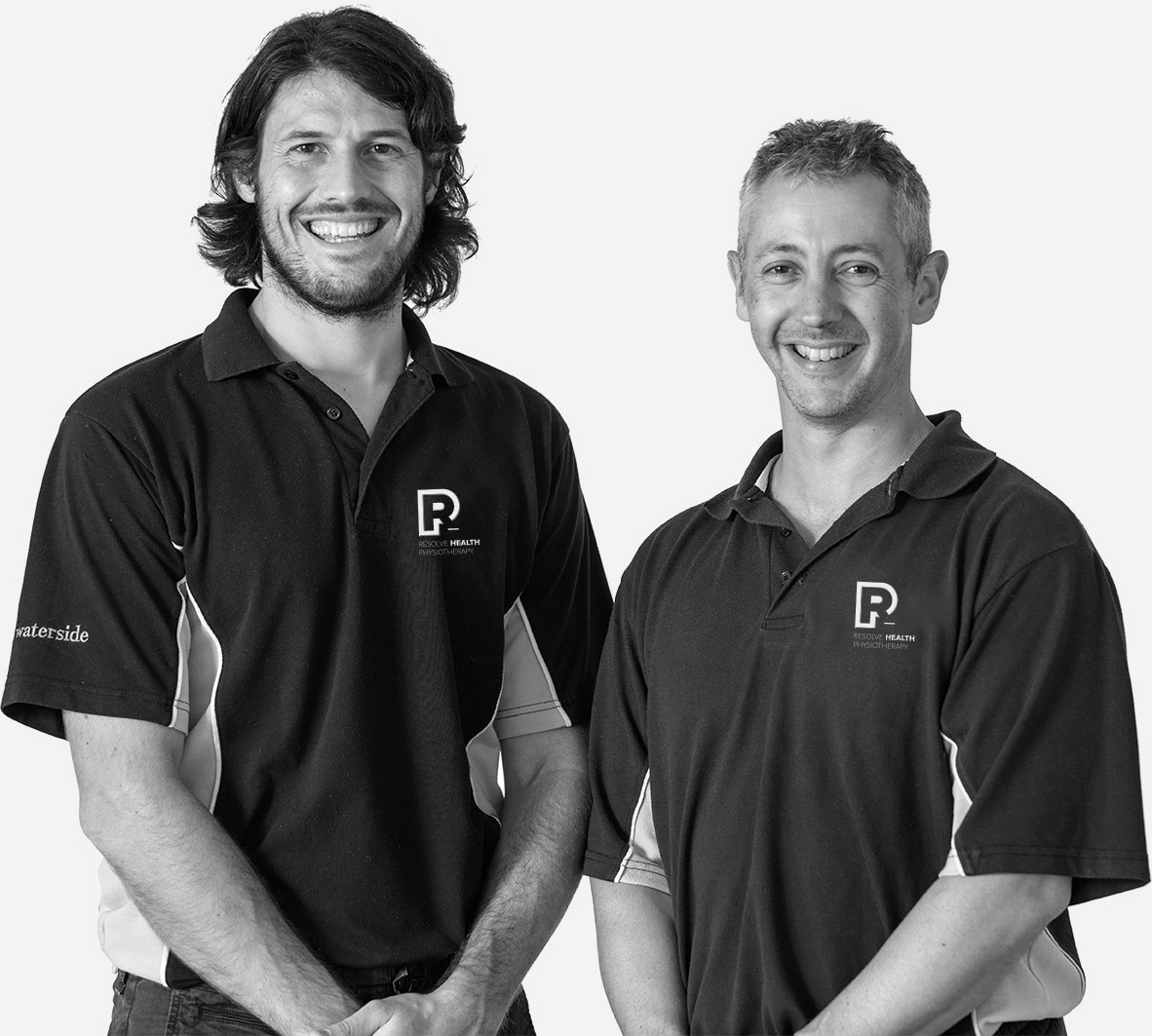 Gavin Kelly and Jason Seaton of Resolve Health Physio